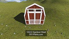 10x Gambrel Plans
