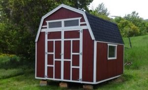 DIY Barn Shed Plans