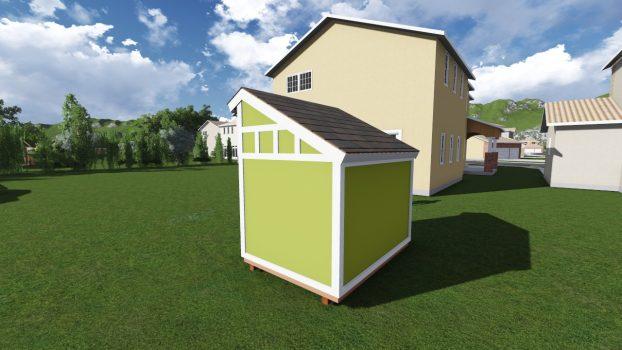 6x8 saltbox shed plan for Salt shed plans