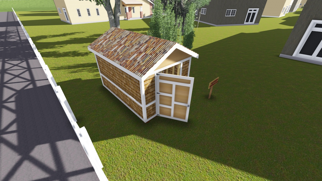 8x12 gable storage shed plan for Gable storage shed plans