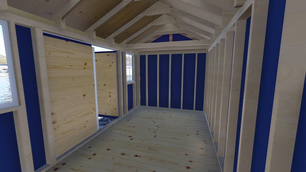 garden shed installation instructions