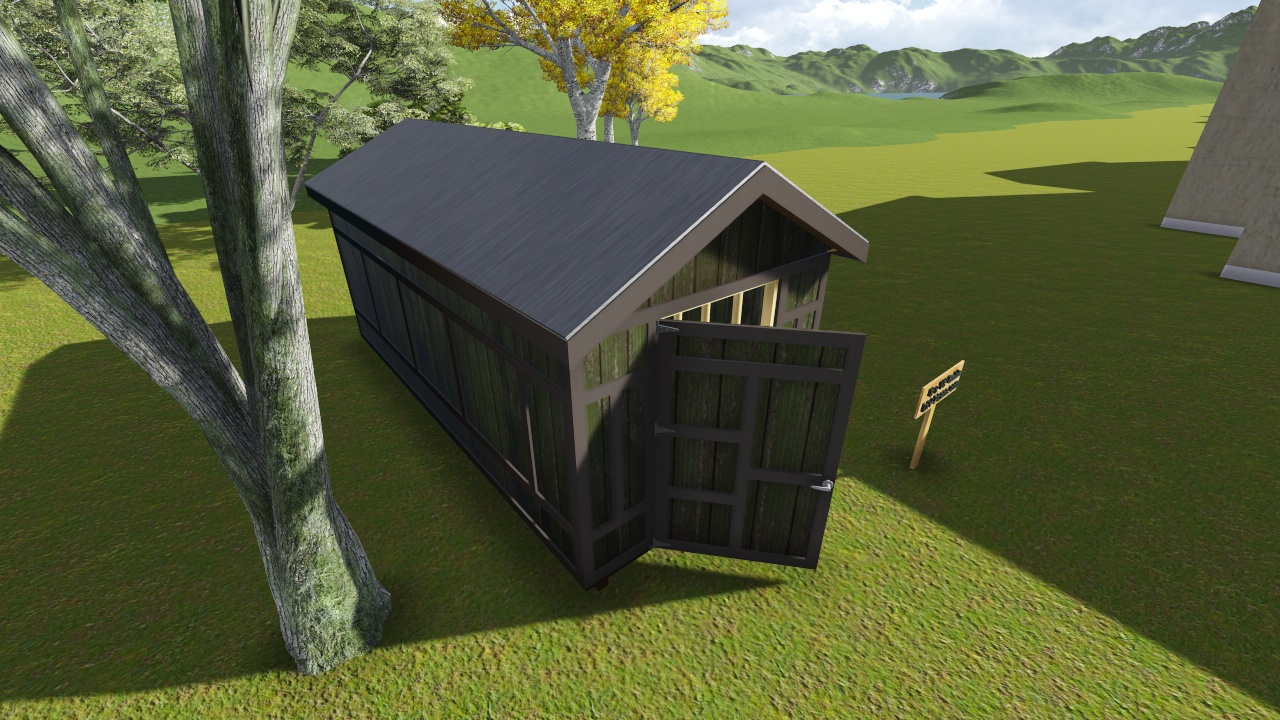 8x18 gable storage shed plan for Gable storage shed plans
