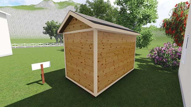 8x14 tall garden shed plan diy storage - Garden Sheds 8 X 14