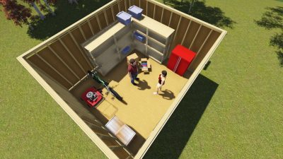 Finishing a Shed: Three Shelving Tips and Ideas