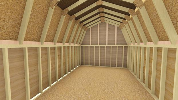 12x20 Barn Shed Plan