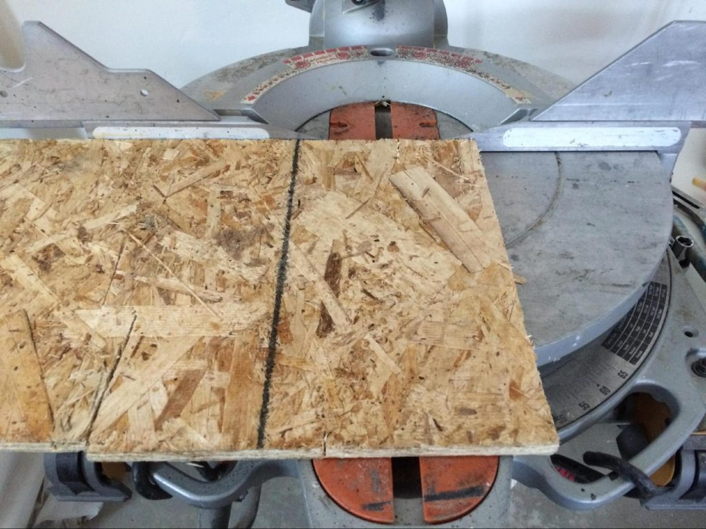 plywood strips