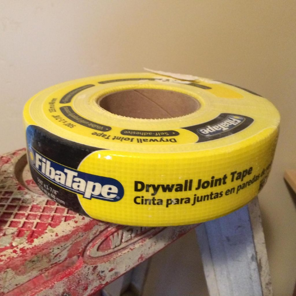 Buy some drywall Joint Tape