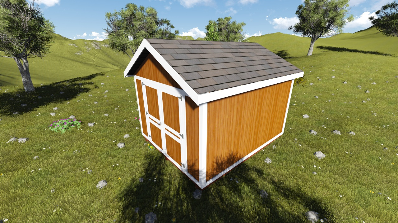 10x12 gable shed plan for Gable shed plans