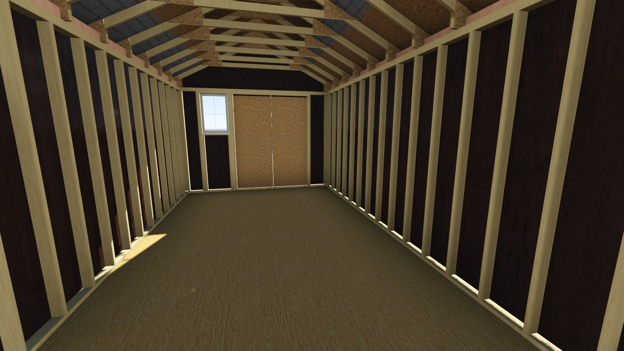 12x26 gable storage shed plan for Gable storage shed plans