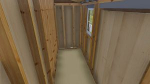 4x12 Lean To Shed Plan Interior Image 3