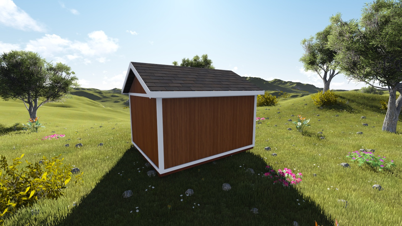 10x12 gable shed plan for Gable sheds